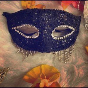 Beautiful Rhinestone Mask